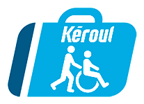 Logo de Kéroul - La route accessible